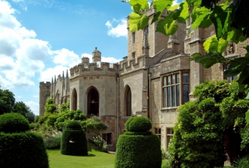 Elton Hall And Gardens Attraction In Nr Peterborough