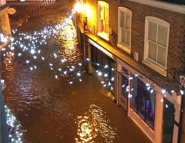 Boston, Lincolnshire Flooding