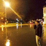 Flooding in Godalming last night - Picture Oliver Sussat via Twitter