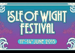 Yellow severe weather warning of rain for Friday at the 2015 Isle of Wight Festival.